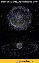 EVERY SINGLE SATELLITE ORBITING THE EARTH t