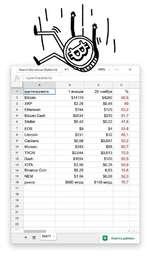 Акриптовалюта AвСD 1криптовалюта1 января20 ноября% 2Bitcoin$14110$428066.5 3XRP$2.25$0,4580 4Ethereum$744$12583,2 5Bitcoin Cash$2534$21091.7 6Stellar$0,42$0,2247,6 7EOS$9$455,6 8Litecoin$231$3286,1 9Cardano$0,69$0,04793.2 10Monero$353$6880,