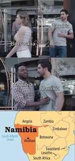 Zambia Zimbabwe South Atlantic Ocean Botswana Swaziland Lesotho \ South Africa