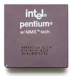 irrte!® pentium® w/MMX™ tech A80503I 66 SL2 7K 8 7 4 7014 9 -0363 INTEL©©'92'95